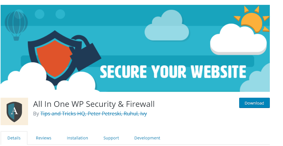 All-in-one WP security